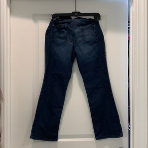Like new over the belly maternity jeans